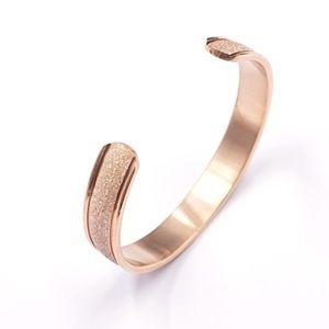 New French 1 D'un Genre Gold Cuff Bracelet Bangle